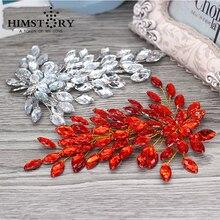 bling Tiara Bridal Headpieces Headdress Handmade Head Jewelry Decoration Pearl Flower Wedding Hair Piece For Bride
