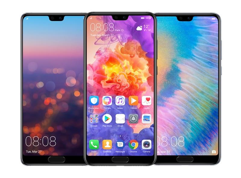 Смартфон huawei P20 6 ГБ 128 ГБ полный LTE группа AI двойной сзади Камера 5,8 дюймов полный вид Экран перегружать NFC Android 8,1