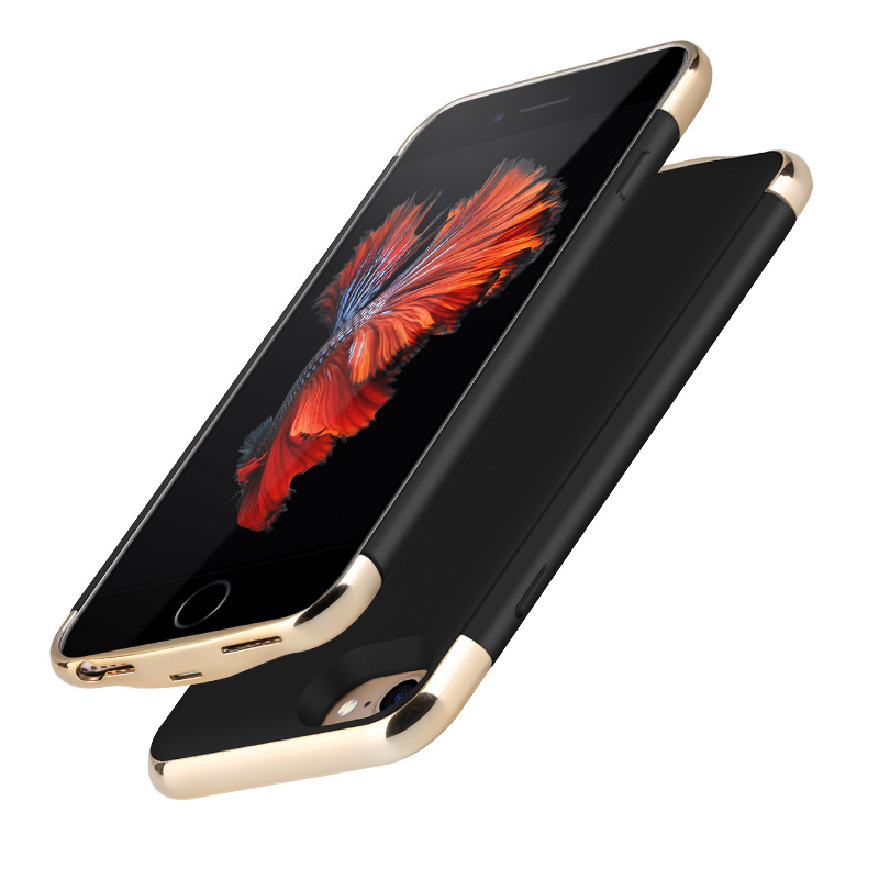 Ultra Slim External Battery Charger Case For iPhone 8 7 6 6s Plus PowerBank Battery Charger