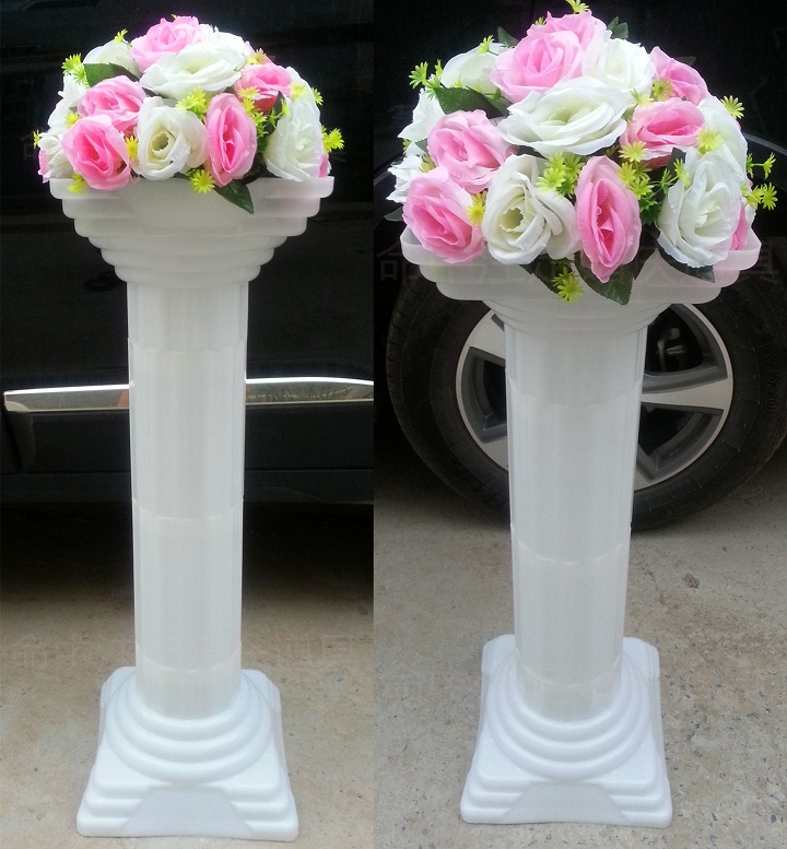 wholesale decorations for weddings wedding road lead column wedding decoration plastic 1382