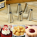 DIY Stainless Steel Icing Piping Nozzles Pastry Tips Fondant Cup Cake Baking Cake Decorating Tool
