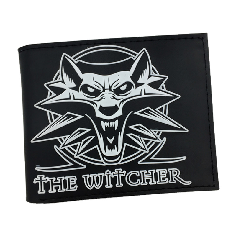 купить Free Shipping PVC Wallet The Witcher 3 Wild Hunt Short Purse With Card Holder Dollar Price