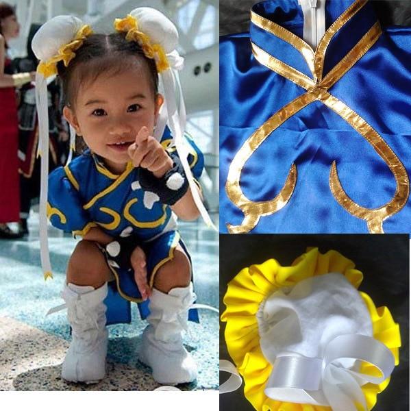 Street Fighter Chun Li Child Cosplay Costume Chun Li Chunli Blue Dress Outfit for kids Children  sc 1 st  AliExpress.com & Street Fighter Chun Li Child Cosplay Costume Chun Li Chunli Blue ...