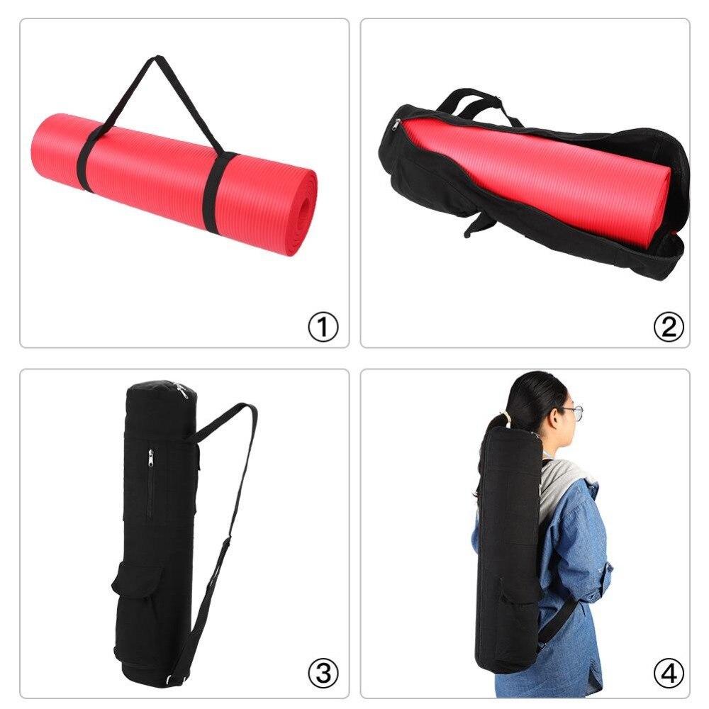 Backpack Tote-Bag Sling-Bag Yoga-Mat Fitness-Carrier Exercise Strap Adjustable Large-Capacity
