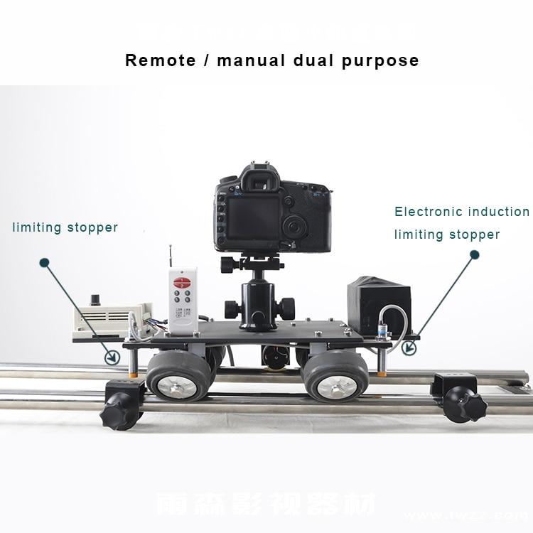 Моторизованный управление мини ползунок Электрический рельс Долли стрельба фотографии для видео камера Handycam