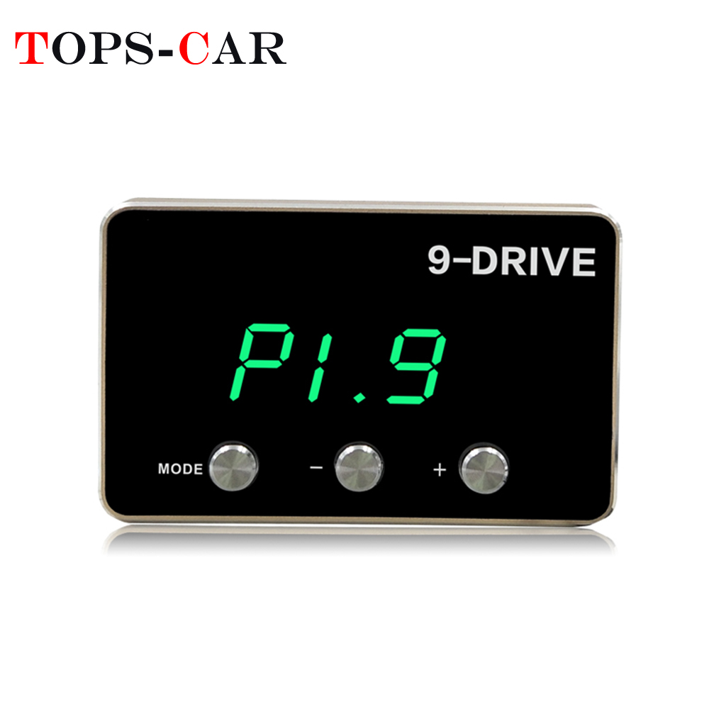 Car Electronic 9 Modes Throttle Accelerator Control Engine Speed Controller For