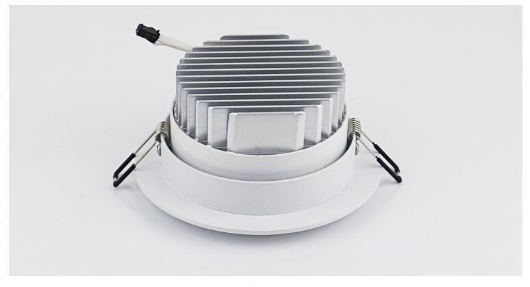 Dimmable LED Downlight 5W 7W 10W 12W 15W 20W 30W Spot LED LED - Ներքին լուսավորություն - Լուսանկար 6