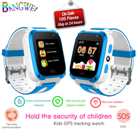 2018 Children Smartwatch OLED Color Touch Screen Safety Distance Setting Digital Watch Support SIM Card For Android Mobile Phone