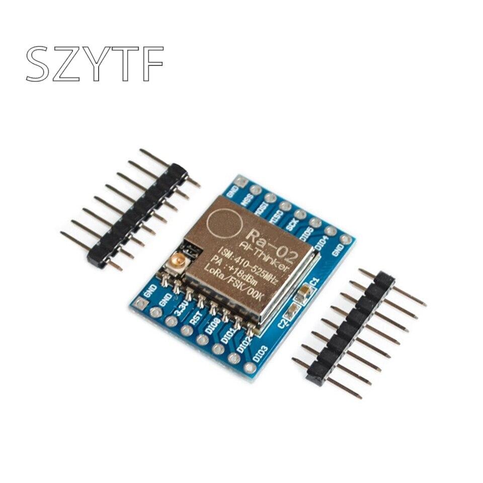 Sx1278 lora módulo 433 m 10 km Ra-02 ai-pensador sem fio spread espectro tomada de transmissão para casa inteligente diy