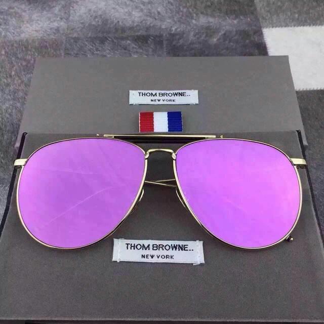 7f4fbf42e45 2015 New Mirror Women Brand Designer Sunglasses Fashion Sunglasses Thom  Browne TB 015 011 Sun Glasses with Original Box-in Sunglasses from Apparel  ...