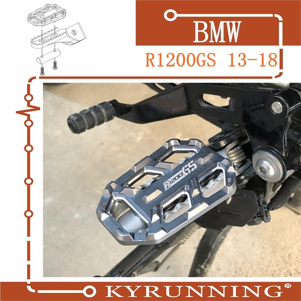 Teng Adoração Motocicleta Boleto MX Ampla Pé Pegs Pedais Resto Footpegs para BMW R1200GS R1200 GS R 1200 GS 2013 -2018