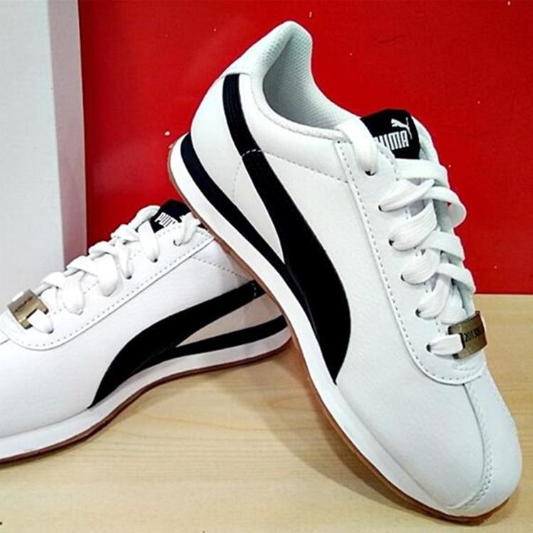US $59.99 |Original PUMA X BTS New Collaboration Turin BTS (36818801) Star Korea Women'sMen's Sneakers Running Shoes White Mesh Sneaker in Running