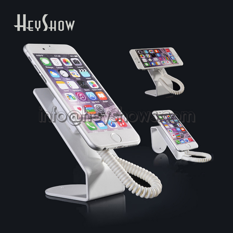 10 pcs Metallic cell phone display stand holder for mobile phone security display system ...