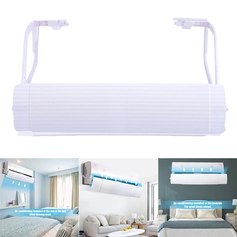 Telescópica ajustável Deflector de Ar Condicionado Saída de Ar Protetor de Vento para Casa FP8