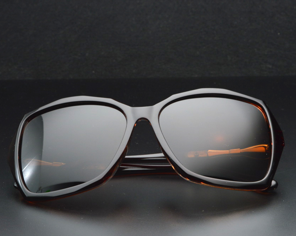 cd7e93392 كلارا فيدا العلامة التجارية الكلاسيكية فراشة سميكة حواف شقراء البني  الاستقطاب النظارات الشمسية بولارويد Polarised التسوق حزب الشمس نظارات