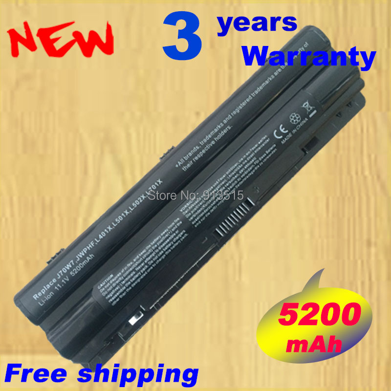 Battery for Dell XPS 14 15 17 L401x L502x L702x JWPHF J70W7 R795X WHXY3 11 1v 90wh original battery for dell xps15 xps14 xps17 l702x l502x j70w7 r795x genuine xps14 xps15 high capacity battery 9 cell