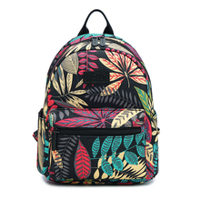 14 Styles Mini Backpack for Teenage Girls Lightweight Small School Bags Durable Canvas Travel Bag Bagpack Mochilla Feminina