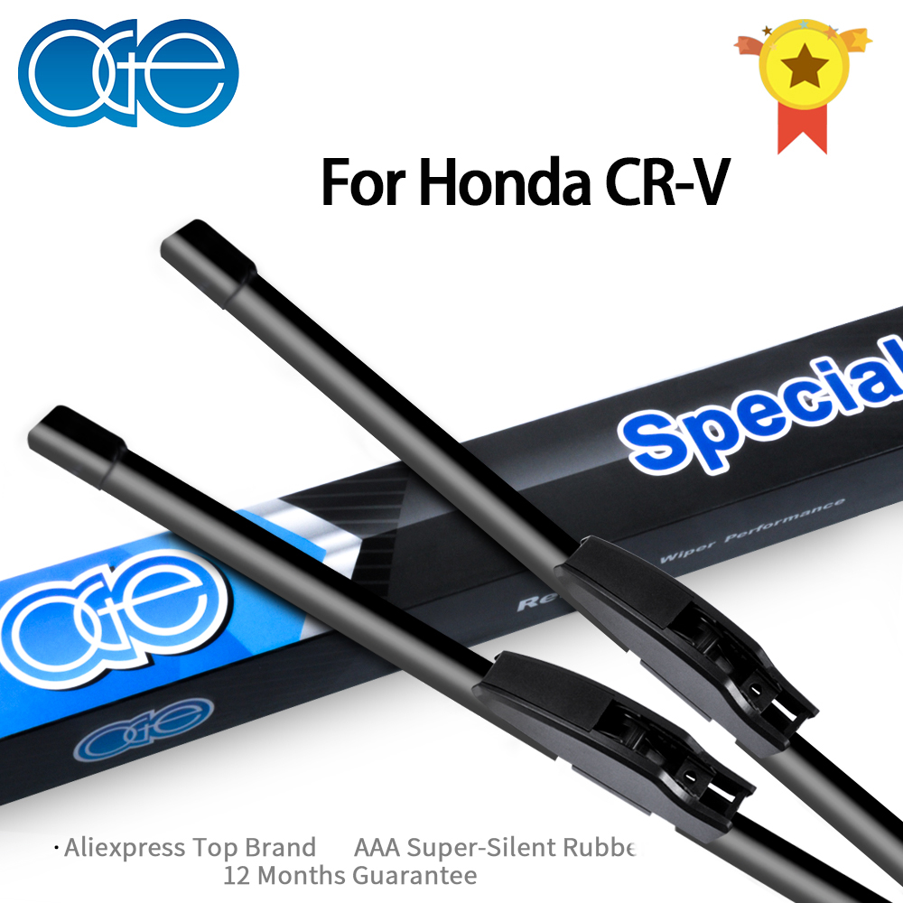 Oge Wiper Blades For Honda CR-V CRV 1995-2016 High Quality Rubber Windscreen Car Accessories