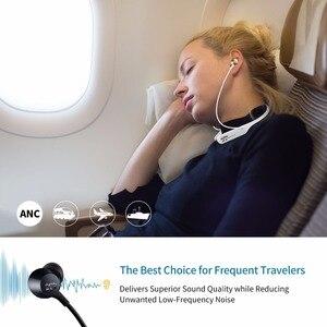 Image 4 - פעיל רעש מבטל אוזניות אלחוטי Neckband אוזניות Bluetooth ב אוזן קל משקל עמיד למים אוזניות באינטרנט כנס