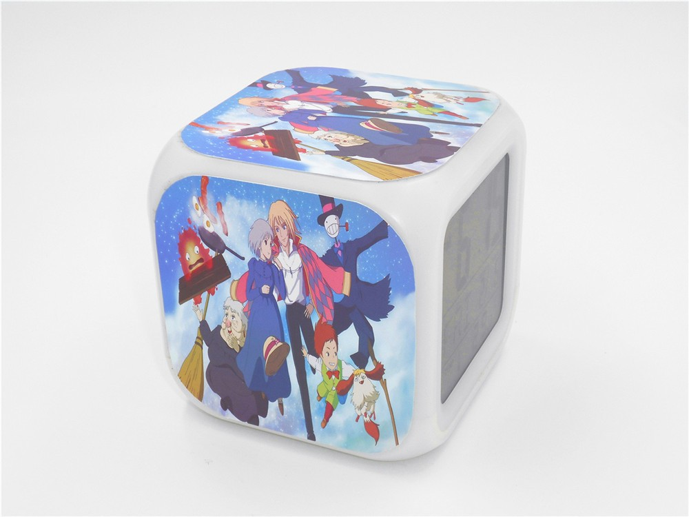 Howl's Moving Castle Alarm Clock 4