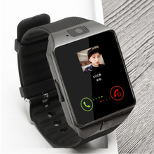 Купить с кэшбэком Bluetooth Smart Watch  Support SIM TF card wristwatch for Android and IOS smartphone camera pedometer