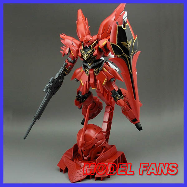 ФОТО MODEL FANS Freeshipping Gundam Model HG 1/144 SINANJU MSN06S UNICORN GUNDAM