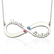 e716ee7d33 Buy couples birthstone necklace and get free shipping on AliExpress.com