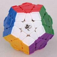 DaYan Megaminx Dodecahedron Magic Cube con Angolo Creste Velocità Cubi di Puzzle Giocattoli per I Bambini Bambini