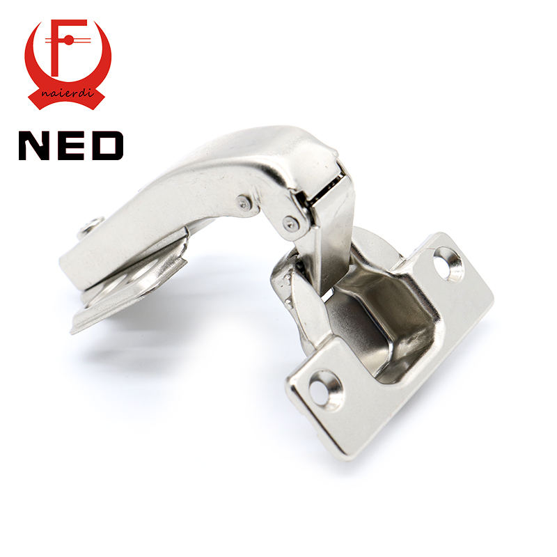 10PCS Brand NED 90 Degree Corner Fold Cabinet Door Hinges 90 Angle Hinge  Hardware For Home