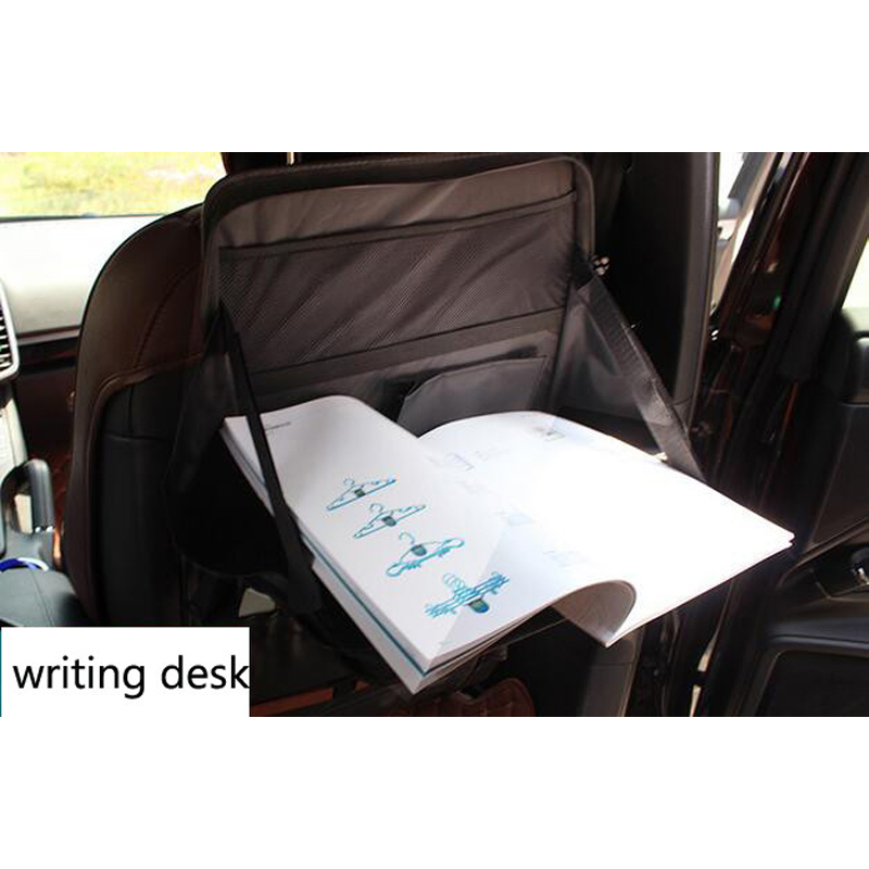 Laptop Computer Stand Tray Desk Table Folding Car Seat Back Storage Bag Safety Multi Function Rack Organizer In Stowing Tidying From