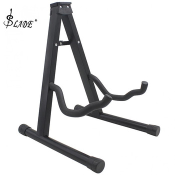 Portable Folding Tripod Guitar Stand String Instruments Holder for Acoustic Electronic Guitar Bass Ukulele Violin Cello 5x 1pc wood folding stand for guitar ukulele mandolin banjo violin
