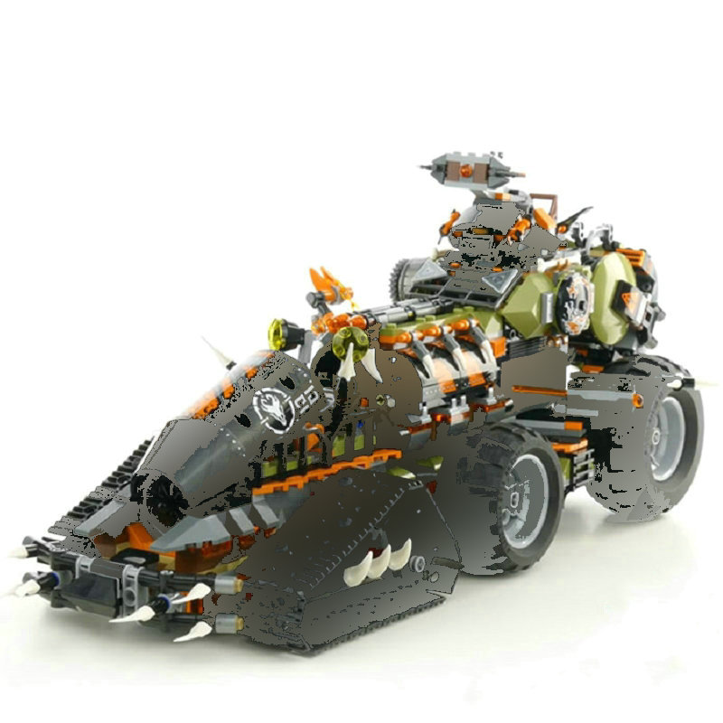 NINJA Building Blocks The DieselnautinGlys Tank Model Bricks Compatible s Ninjagoes Set Toys For Children Gift
