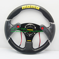 MOMO Sport Steering Wheel With 3 Horn Buttons Racing Car Steering Wheel 320mm Flat Model
