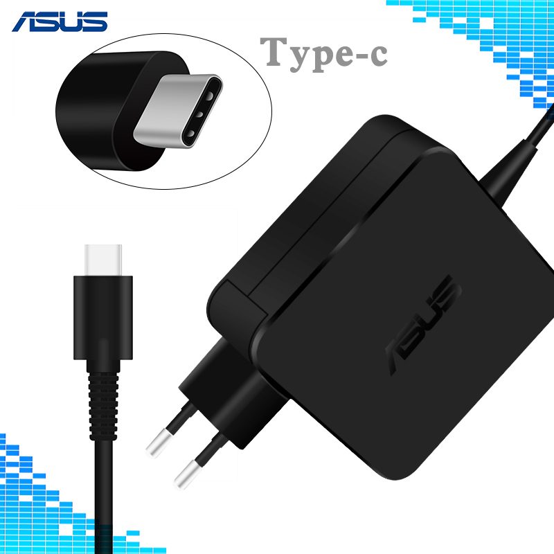 65 W USB tipo-C adaptador de la computadora portátil cargador para Asus Lenovo ThinkPad 20 V 3.25A 15 V 3A 9 V 3A 12 V 3A 5 V 2A adaptador de alimentación de CA