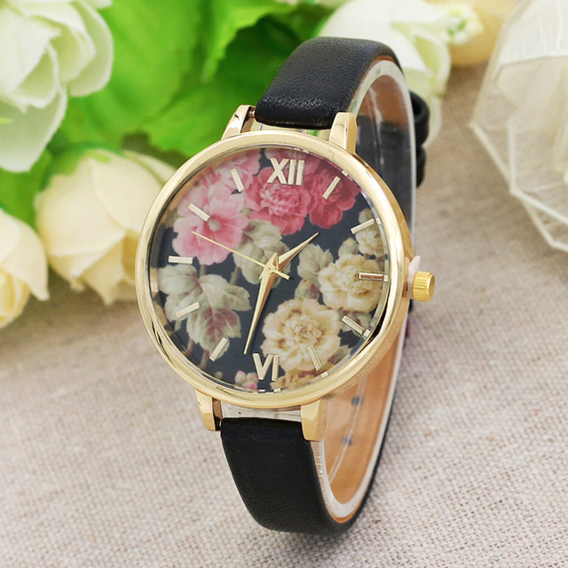 Relogio feminino watch women band watches bracelet watch ladies casual Leather B
