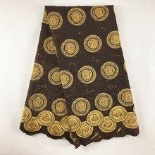 2019 di alta qualità africano del merletto francese tessuto del merletto merletto svizzero del voile tessuto di pizzo con le pietre tulle tessuti di pizzo per la cerimonia nuziale 867