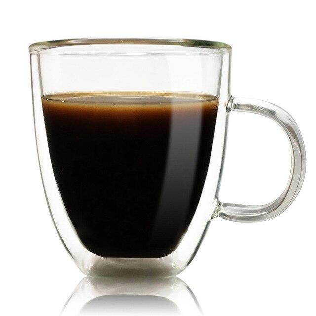 Clear Gl Coffee Mugs The Table