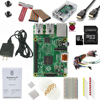 Original 2016 Raspberry Pi 3 Model B Ultimate Starter Kit Include 40 Components 64GB Micro SD