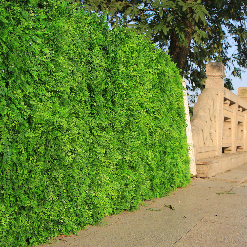 Outdoor Artificial Boxwood Ivy Hedge Privacy Fence Wall 10