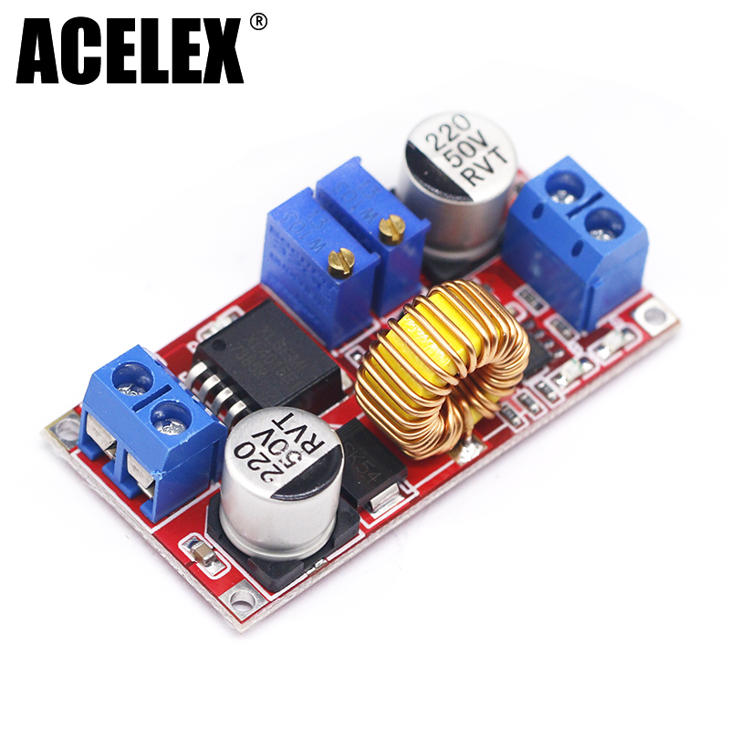 5A Adjustable DC-DC CC CV Lithium Battery DC Step Down Charger Board Power Supply Converter XL4005E1 5-32V to 0.8-30V LED Driver цена