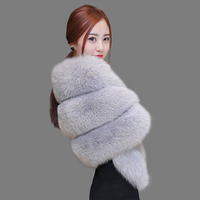 Ladies 100 Natural Fur Coat For Women Women Vest Fox Whole Skin Full Pelt Genuine Fur