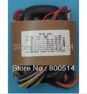 35 W 0-115V-230V-R Núcleo Do Transformador 220 V * 2 + 6.3 V * 2