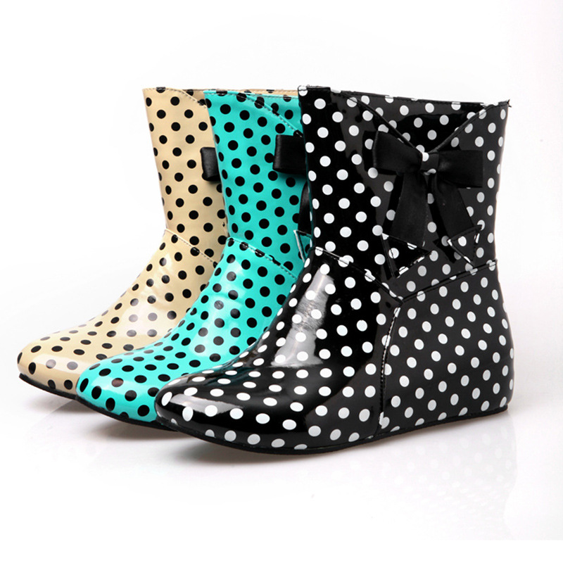 Popular Polka Dot Rainboots-Buy Cheap Polka Dot Rainboots lots ...