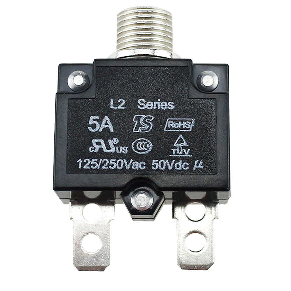 30 AMP PUSHBUTTON THERMAL CIRCUIT BREAKER RESET SWITCH