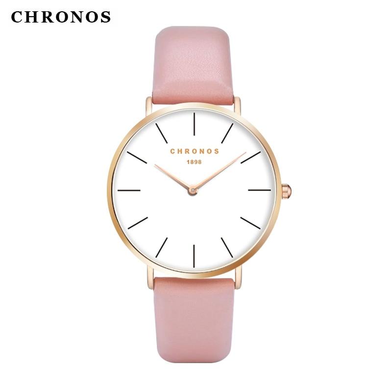 Beliebte Marke Chronos Männer Frauen Paar Uhren Mode Nylon Quarzuhr Ultra Dünne Beliebte Einfache Runde Casual Uhr Relogio Masculino
