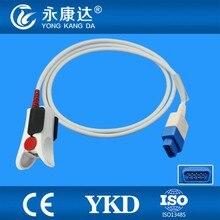 GE ADULT Trusignal TS-F-D spo2 sensor, adult finger clip spo2 sensor