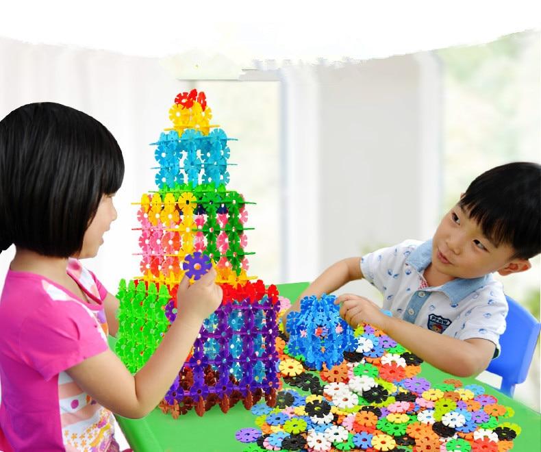 Kids Toys Plastic Sunflower Building Blocks Educational Building Blocks Kits Sets for kids Creativity