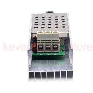 Image 5 - Высокомощный электронный регулятор напряжения SCR BTA10, 10000 Вт, контроллер скорости, электронный диммер