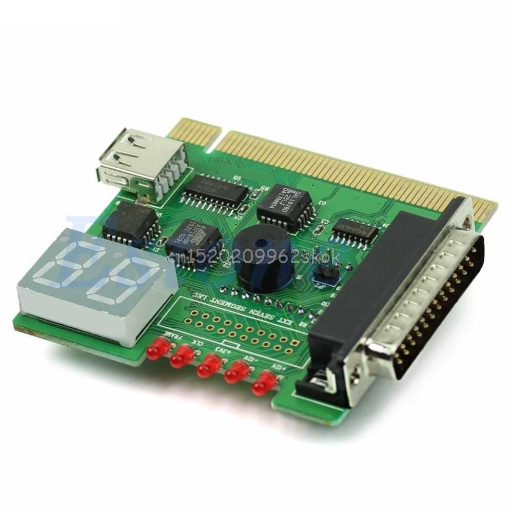 f004e21ece90 1PC USB PCI PC Notebook Laptop Analyzer Motherboard Diagnostic POST Card  #H029#