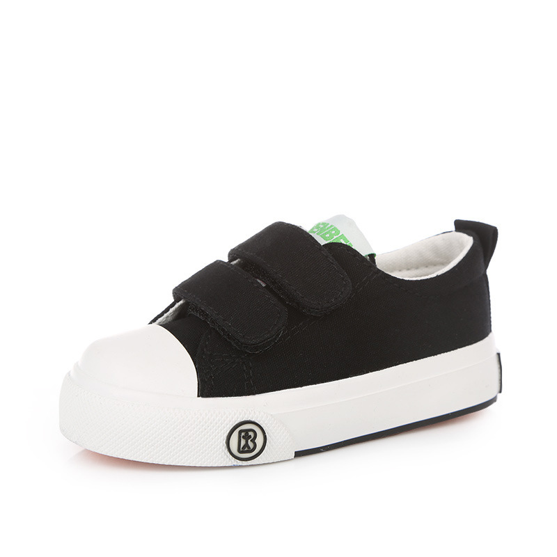 2016-new-Korean-children-solid-color-canvas-casual-shoes-boys-girls-white-students-shoes-fashion-sneakers-for-kids-3